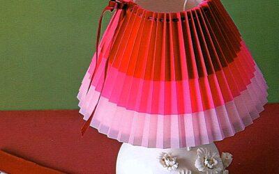 Люстра с абажуром из ткани: выбираем материалы и декор